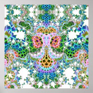 Ancla emeregente V del mosaico impresión de 6 arte Póster
