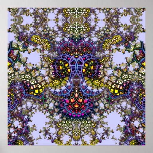 Ancla emeregente V del mosaico impresión de 7 arte Posters