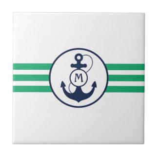 Ancla náutica teja