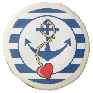 Ancla náutica con el corazón
