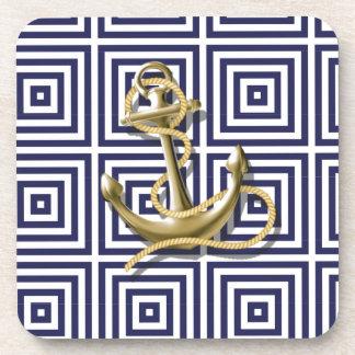 Ancla náutica de muy buen gusto del modelo griego posavasos