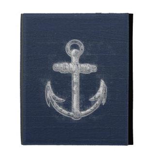 Ancla náutica del vintage