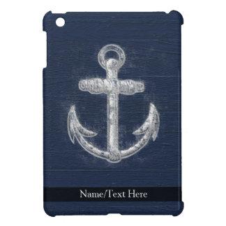 Ancla náutica del vintage iPad mini carcasas