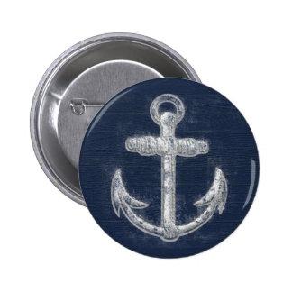 Ancla náutica del vintage pins