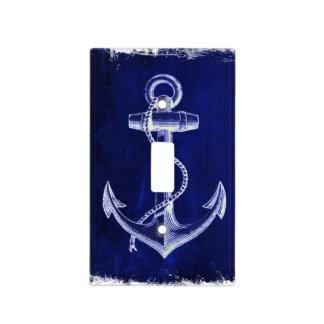 ancla náutica elegante lamentable rústica de la cubiertas para interruptor