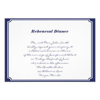 Ancla náutica en ensayo del boda de la marina de g comunicado personalizado
