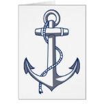 Ancla náutica felicitaciones