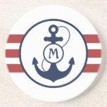 Ancla náutica posavasos manualidades