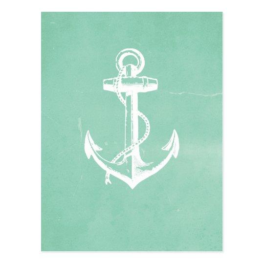 Ancla náutica postal