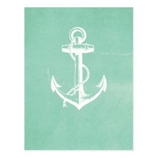Ancla náutica postales