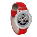 Ancla náutica reloj