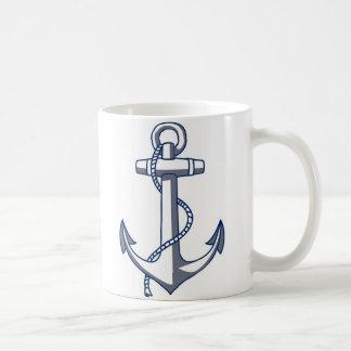 Ancla náutica tazas de café