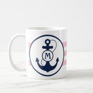 Ancla náutica tazas