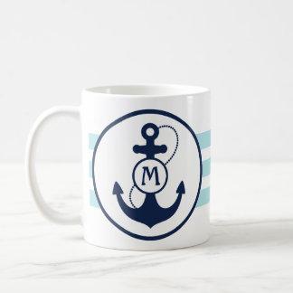 Ancla náutica taza clásica
