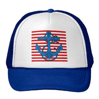 ancla, símbolo del verano gorra