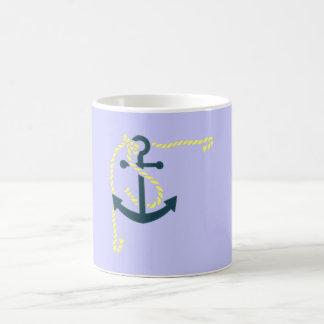 Ancla soga anchor rope taza básica blanca