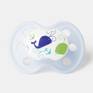 Ancla-uno-Ballena Chupetes Para Bebés