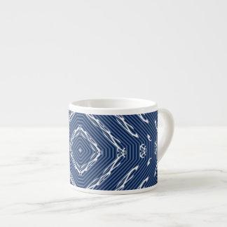 Anclas abstractas taza espresso
