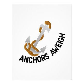 Anclas Aweigh Membrete