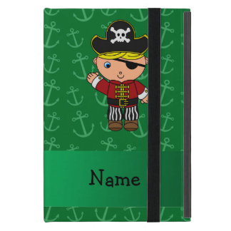 Anclas conocidas personalizadas del verde del iPad mini protectores