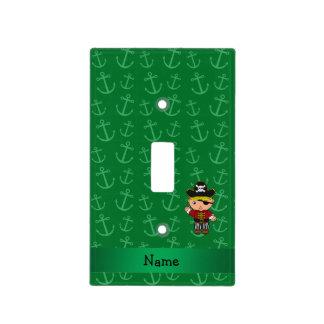 Anclas conocidas personalizadas del verde del tapas para interruptores