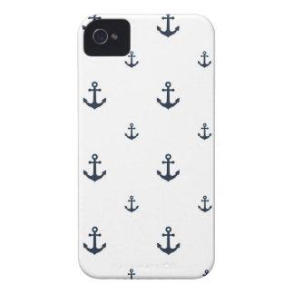 Anclas de la marina de guerra carcasa para iPhone 4 de Case-Mate