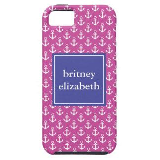 Anclas de muy buen gusto iPhone 5 Case-Mate cobertura