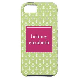 Anclas de muy buen gusto iPhone 5 Case-Mate protector