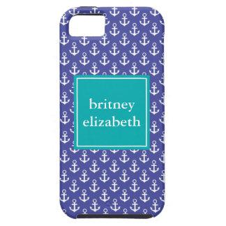 Anclas de muy buen gusto iPhone 5 Case-Mate cárcasa