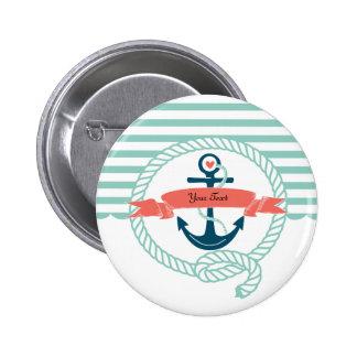 Anclas náuticas pin redondo 5 cm