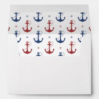 Anclas náuticas sobre