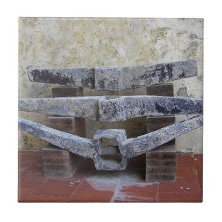 Anclas romanas azulejo cuadrado pequeño