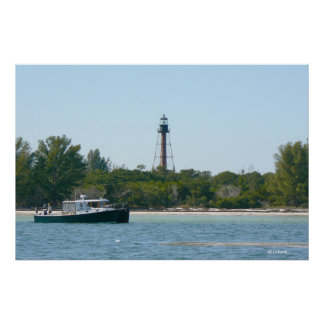 Anclote Key Lighthouse Poster