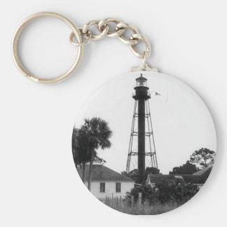 Anclote Keys Lighthouse 2 Key Chain