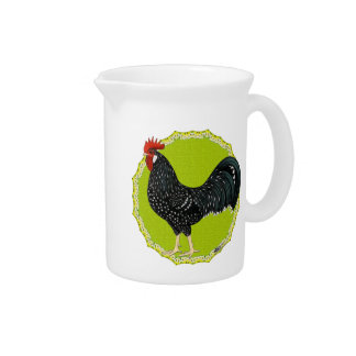 Ancona Rooster Drink Pitcher
