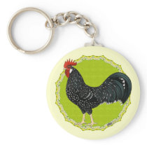 Ancona Rooster Keychain