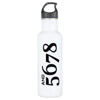 And 5678 24oz water bottle