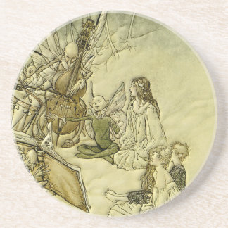 And a Fairy Song - Arthur Rackham Drink Coaster