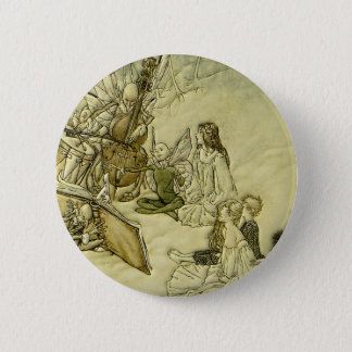 And a Fairy Song - Arthur Rackham Pinback Button