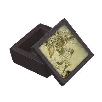 And a Fairy Song - Arthur Rackham Premium Keepsake Box