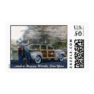 ...and a Happy Woodie New Year Stamp