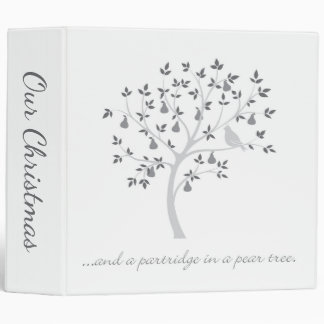 And a partridge in a pear tree binder