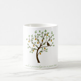 And a partridge in a pear tree coffee mug