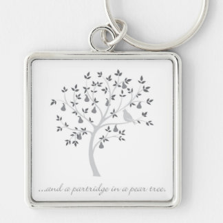 And a partridge in a pear tree keychain