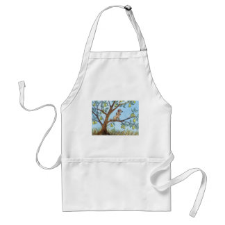 ...And a poo-oodle in a pear tree... Adult Apron