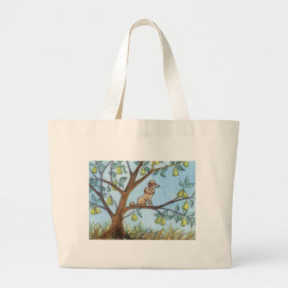 ...And a poo-oodle in a pear tree... Canvas Bag