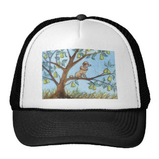 ...And a poo-oodle in a pear tree... Mesh Hats
