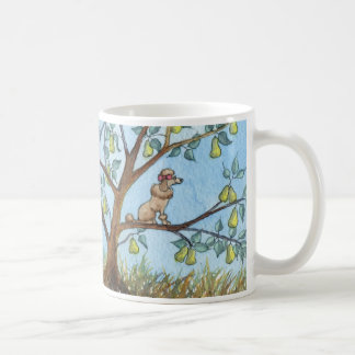 ...And a poo-oodle in a pear tree... Coffee Mugs