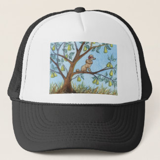 ...And a poo-oodle in a pear tree... Trucker Hat