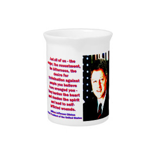 And All Of Us - Bill Clinton Pitcher
